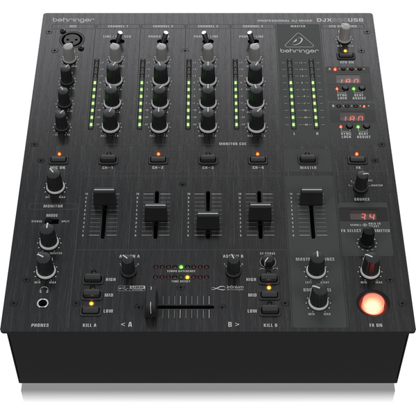 Behringer DJX-900USB Mixer 5 Channel With USB