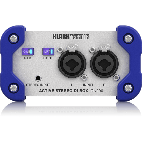 Klark Teknik DN200 V2 Two-Channel Active DI Box