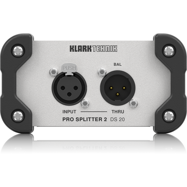 Klark Teknik DS 20 Passive 1-In / 2-Out Signal Splitter