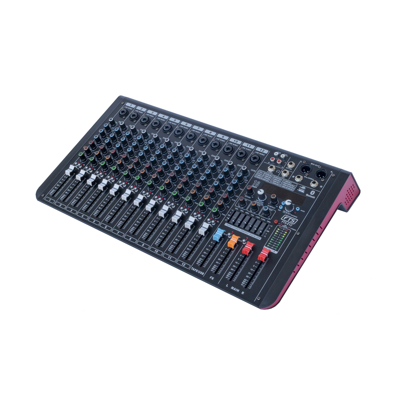FTS 12 Channel Desktop Mixer - fastrak-sa (3871166169155)