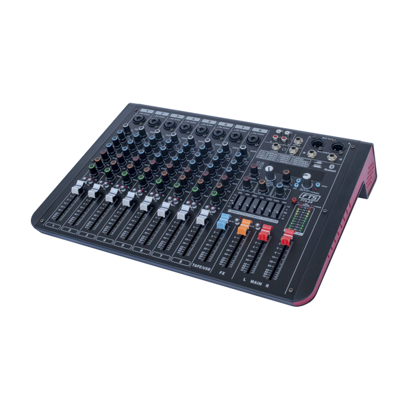 FTS 8 Channel Desktop Mixer - fastrak-sa