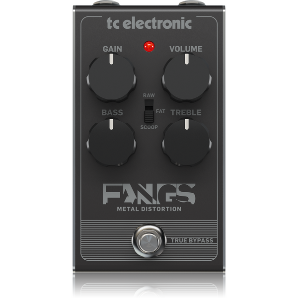 TC Electronic FANGS Distortion Pedal