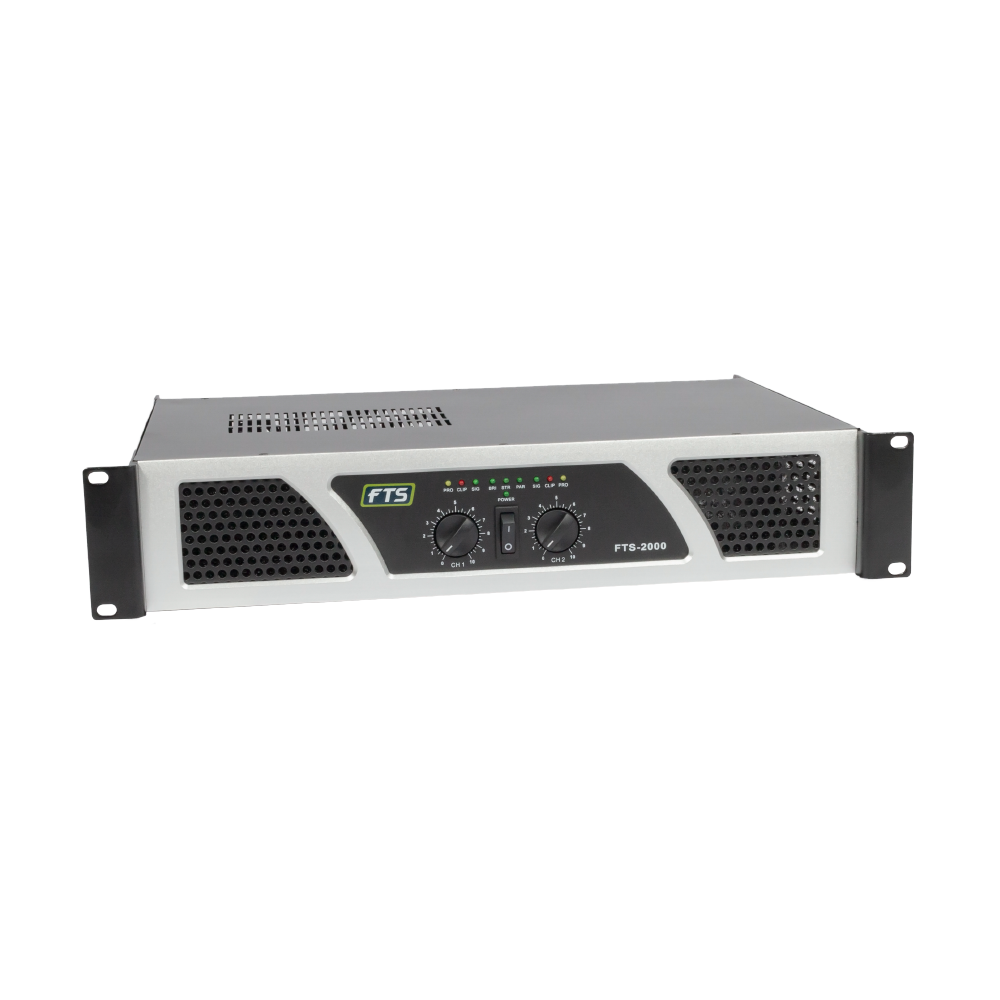 FTS 2000 Professional Power Amplifier - fastrak-sa