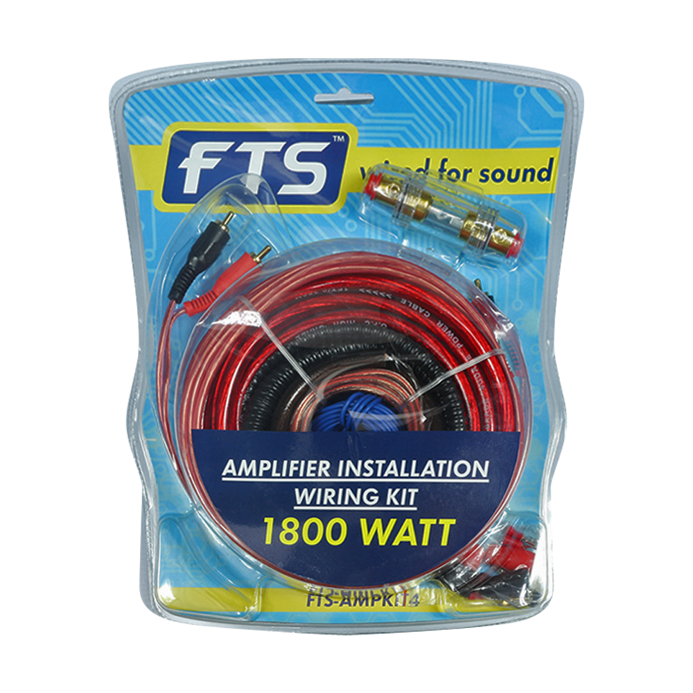 FTS Amplifier Installation Wiring Kit - fastrak-sa
