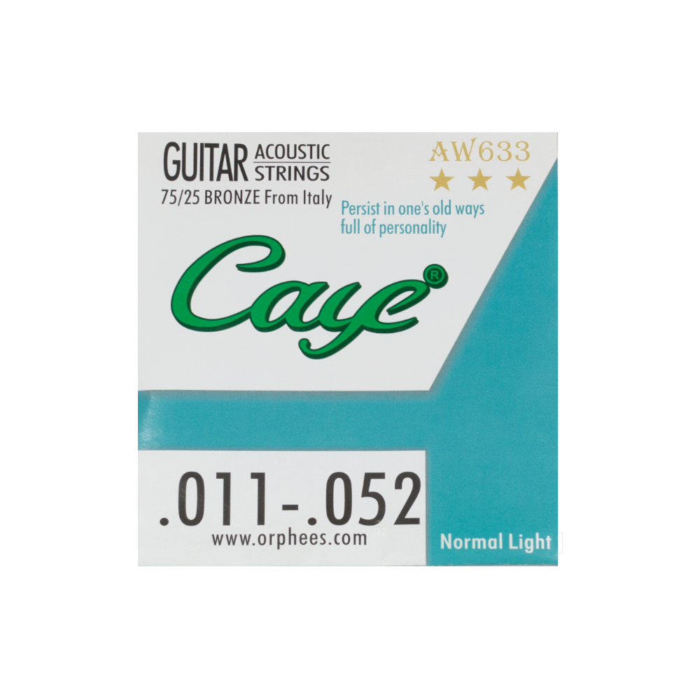 FTS Caye Accoustic Guitar Strings