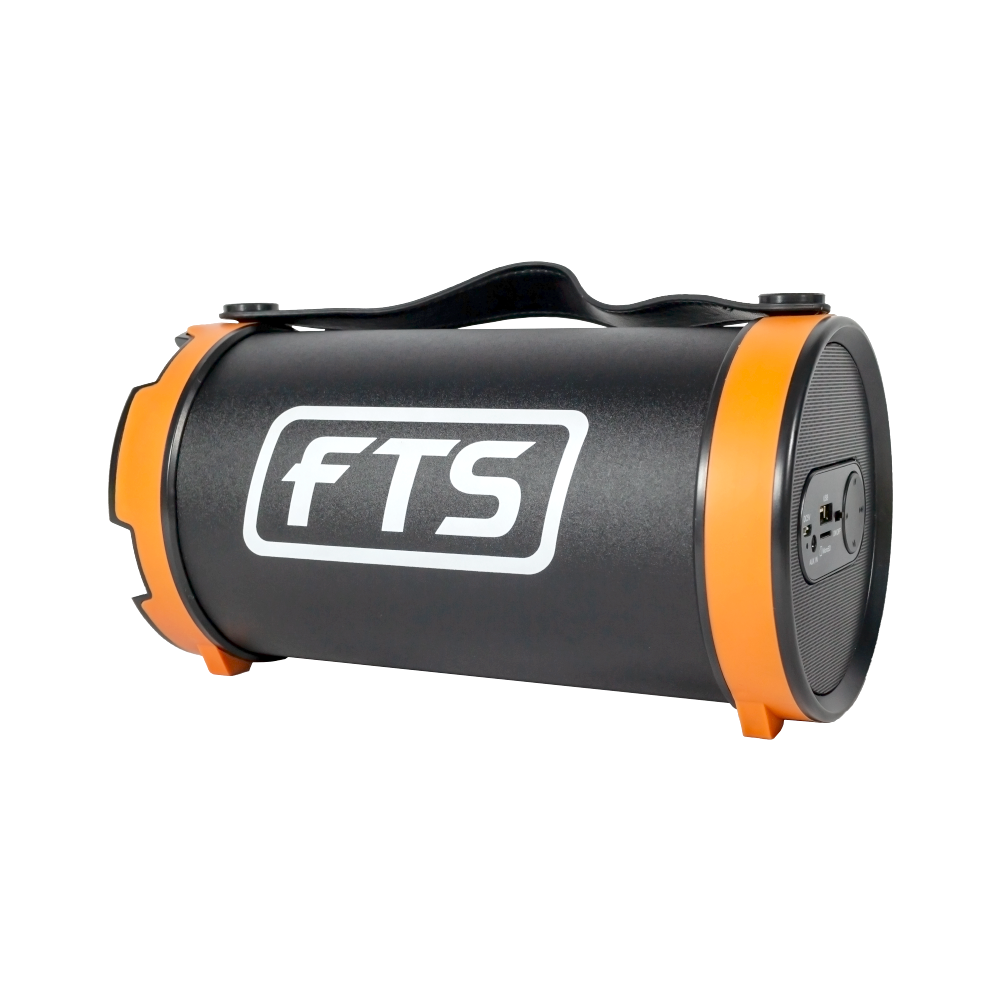 "FTS BS15C 4"" Barrel Bluetooth Speaker Black"
