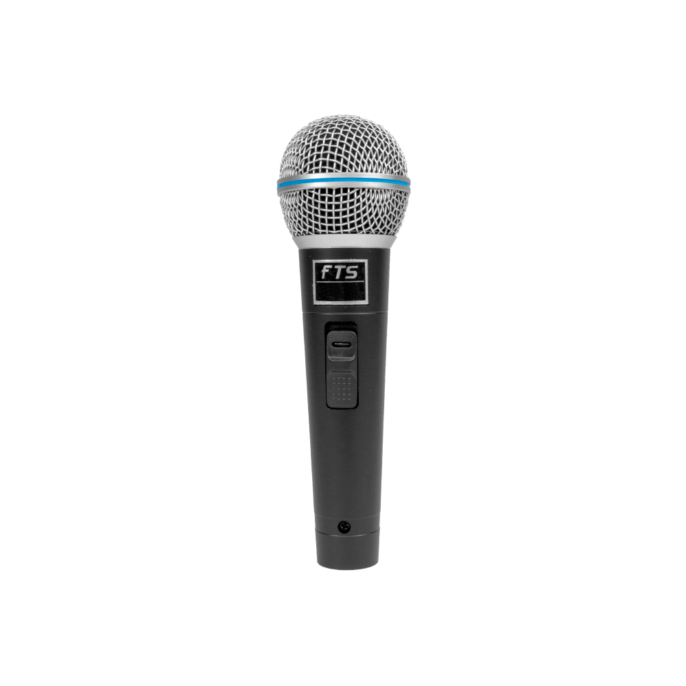 FTS Plastic Moulded Dynamic Microphone - fastrak-sa