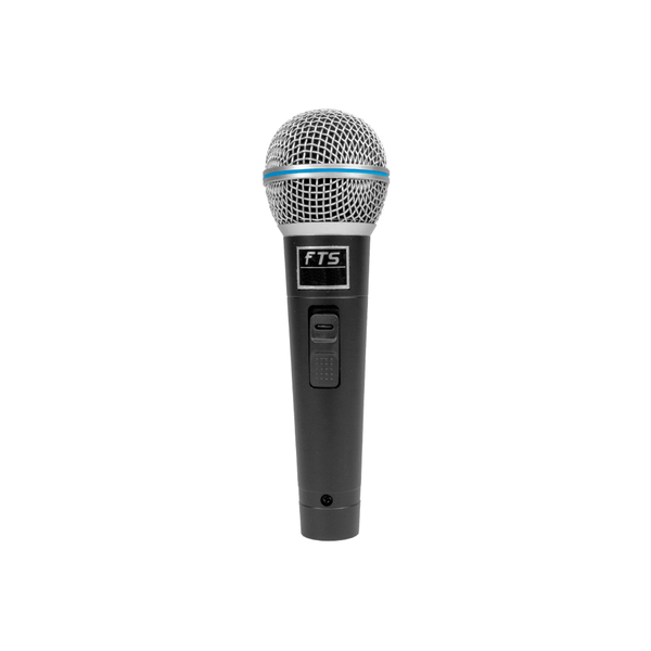 FTS Plastic Moulded Dynamic Microphone - fastrak-sa (2026943053891)