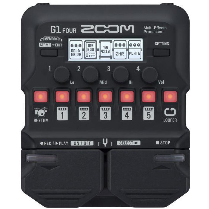 Zoom G1 FOUR GUITAR EFX