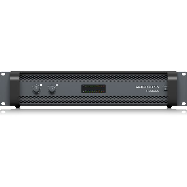 Lab Gruppen PD3000 3,000 Watt Two Channel Speaker Amplifier