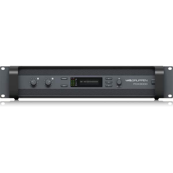 Lab Gruppen PDX3000 3000 Watt Two Channel Amplifier with DSP Control