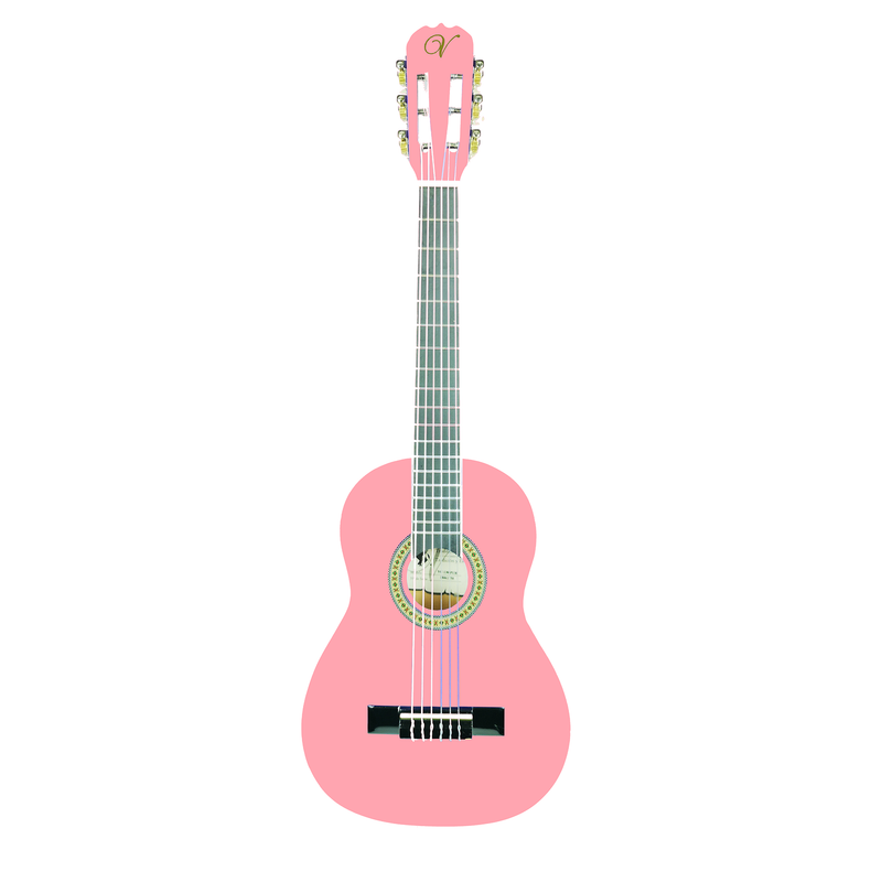 Vizcaya VC 130- PINK Classical 1/4 size guitar