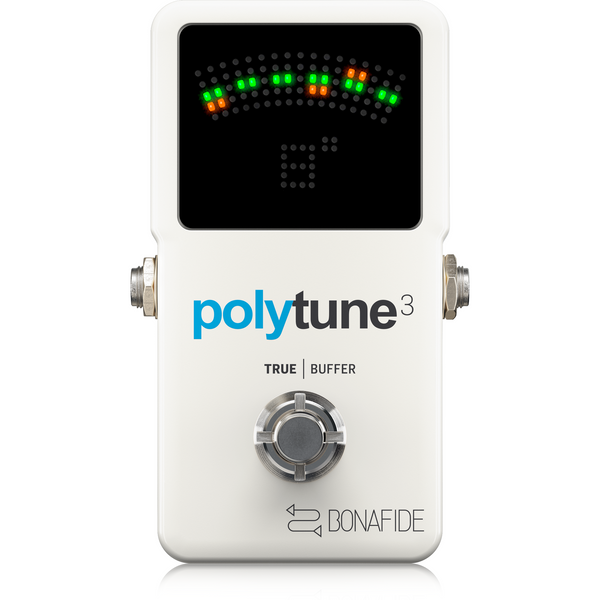 TC Electronic POLYTUNE 3 Polyphonic Tuner