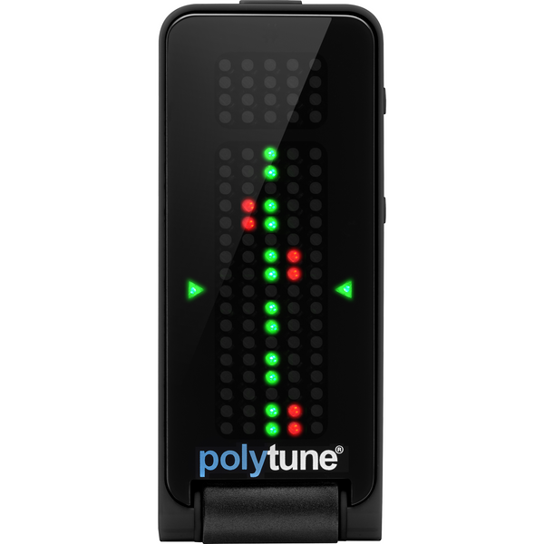 TC Electronic POLYTUNE CLIP Black Polyphonic Clip-On Tuner