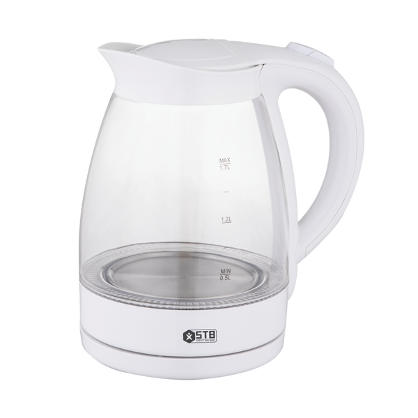 STB 1.7L Cordless Glass Kettle 2200W [BM720],fastrak-sa.
