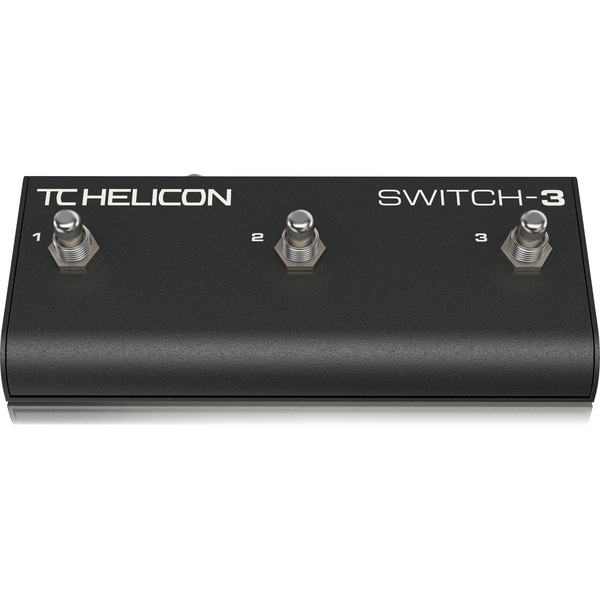 TC Helicon SWITCH-3 Accessory Pedal