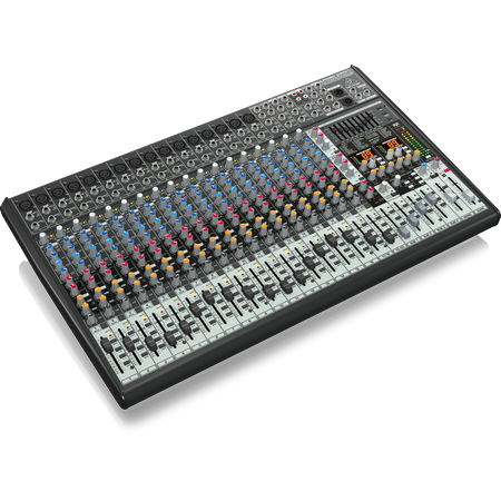 Behringer SX2442FX 24-Input 4-Bus Studio/Live Mixer with XENYX Mic Preamplifiers, British EQs and (4519895924803)