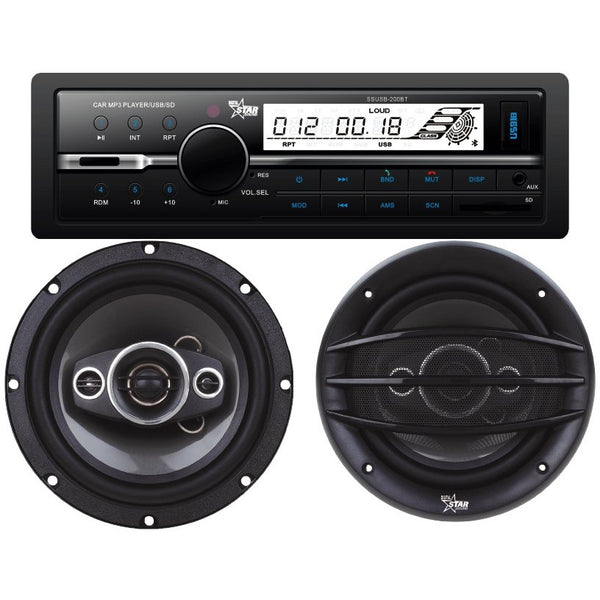 "Starsound RS COMBO 600DL Multimedia Sytem Radio & 6"" speaker"