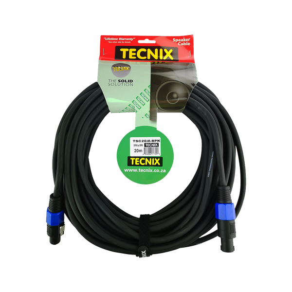 Tecnix TSC-20-M Speakon Cable (4556483395651)