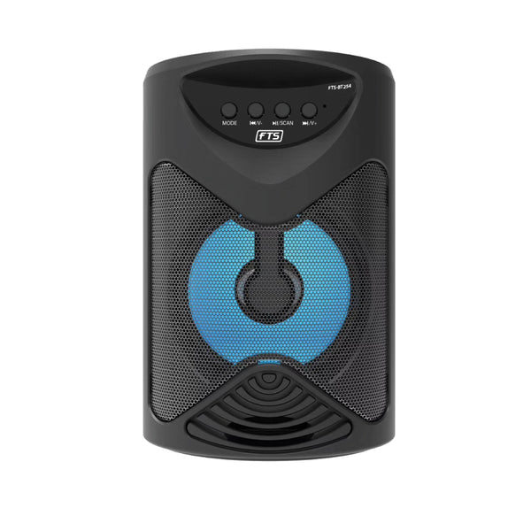 "FTS Z'yakhipha Mini 4"" Portable Bluetooth Speaker Black,fastrak-sa."