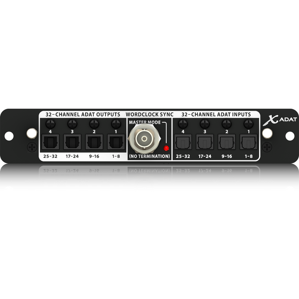 Behringer X-ADAT High-Performance 32-Channel ADAT / Wordclock Expansion Card,fastrak-sa.