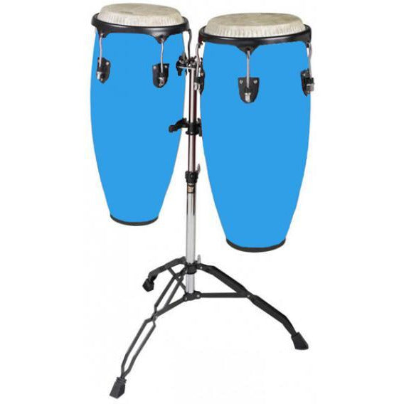 "Mason Conga set 10"" and 11 Blue"