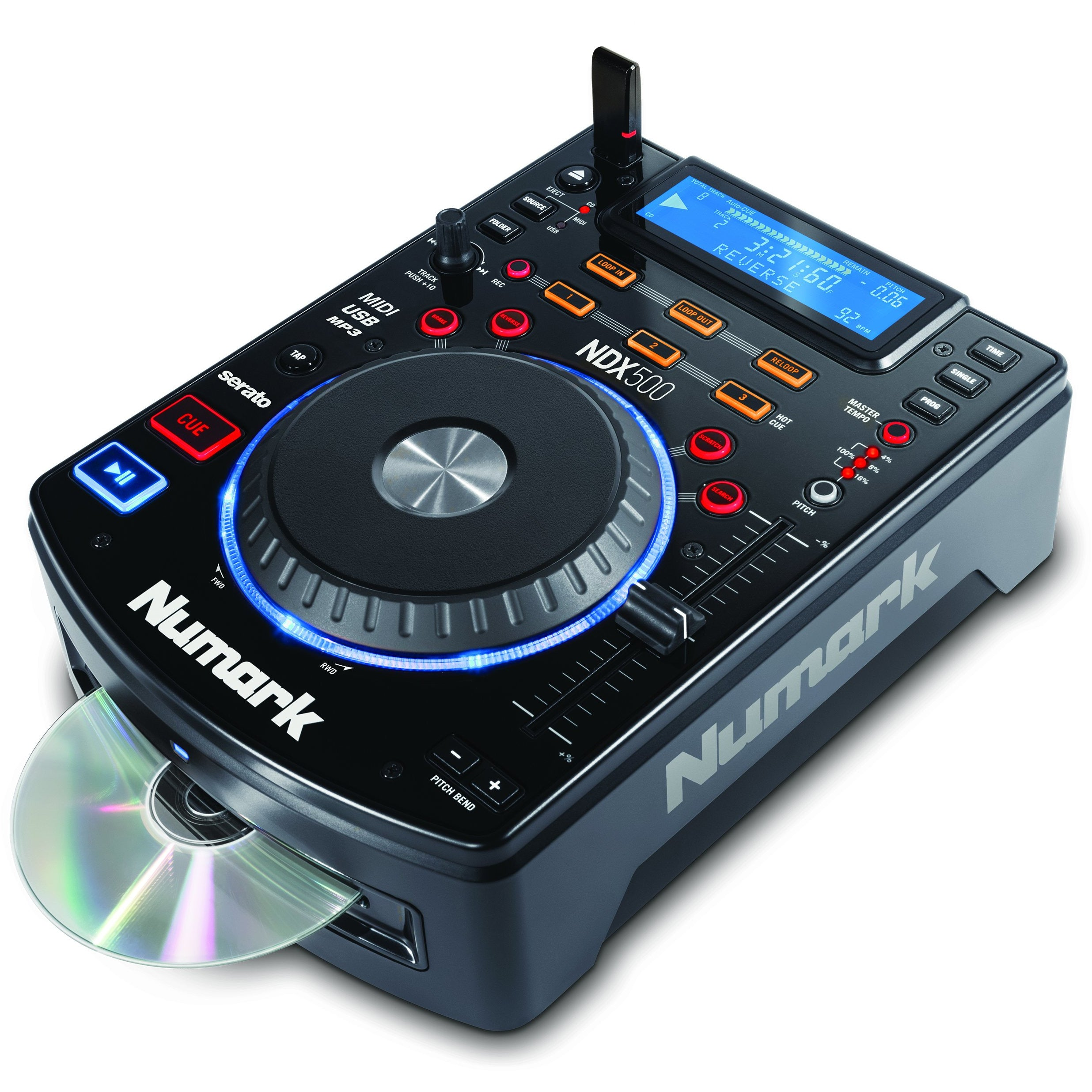 Numark NDX500 TABLE TOP CD