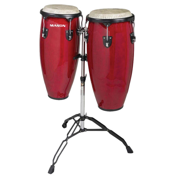 "Mason Conga set 10"" and 11 Red"
