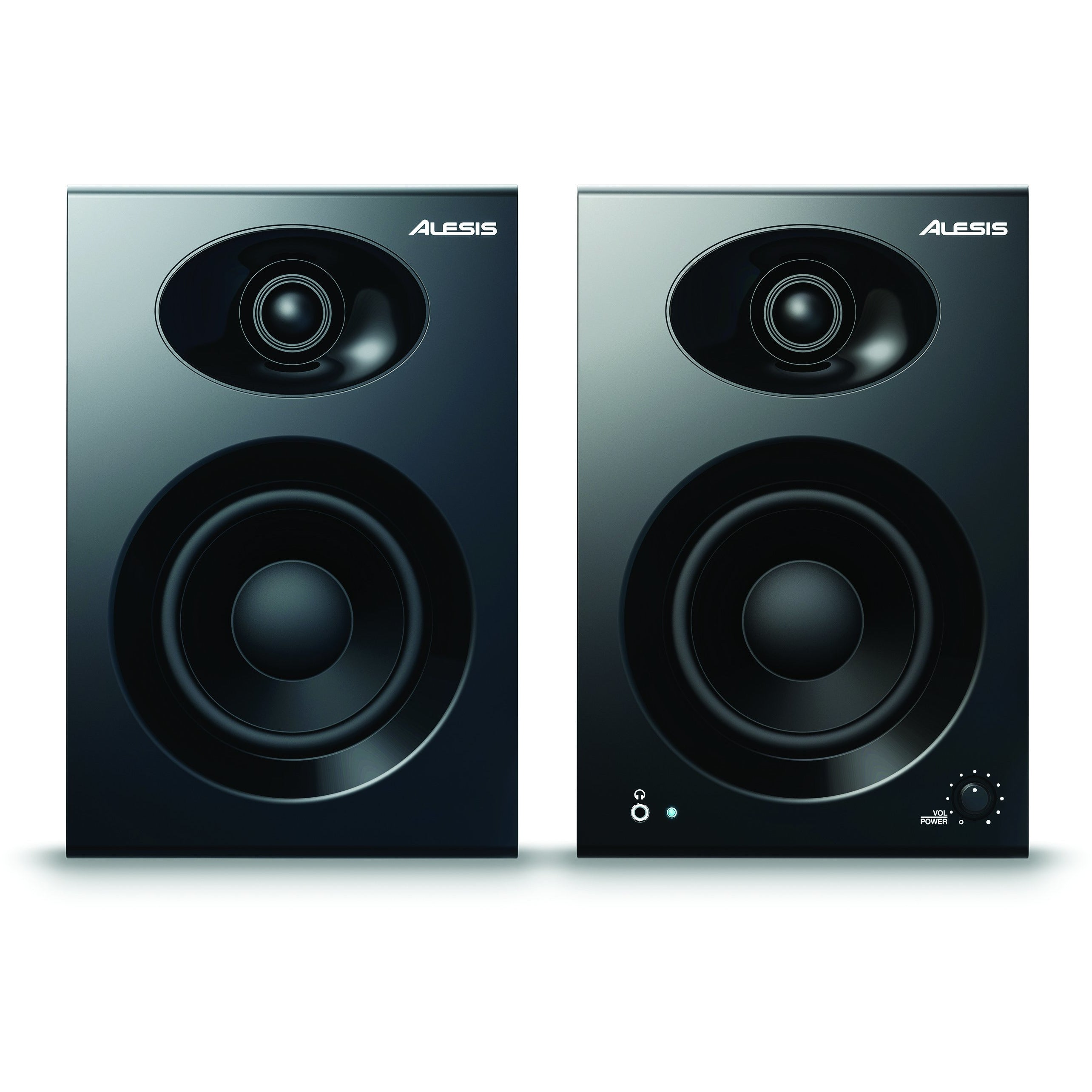 "Alesis Elevate 4 4"" Active Studio Monitors, Boxed In Pairs"