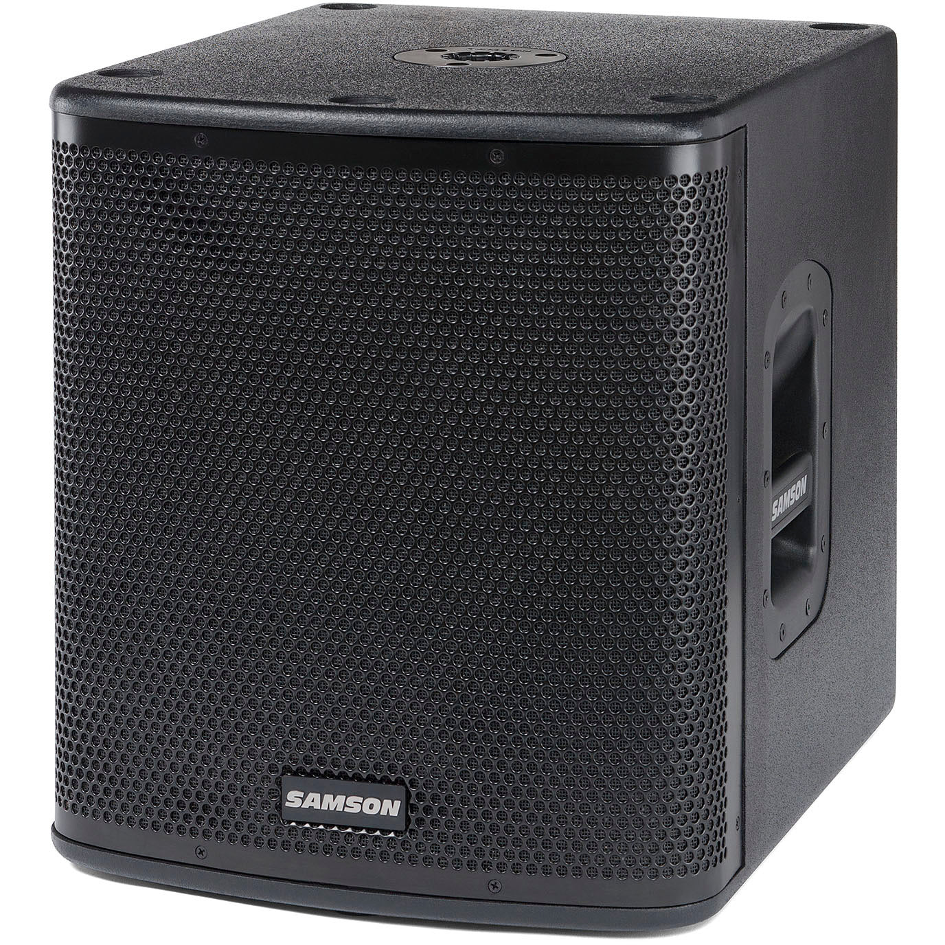Samson AURO D1200A Compact class D active subwoofer.700 watts, low pass/limiter