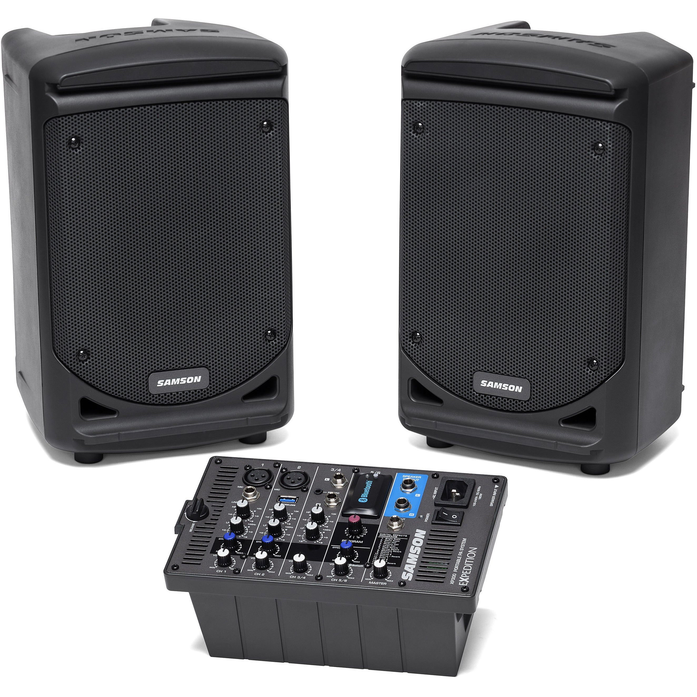 Samson XP300B Samson 300w Portable PA w/ Bluetooth