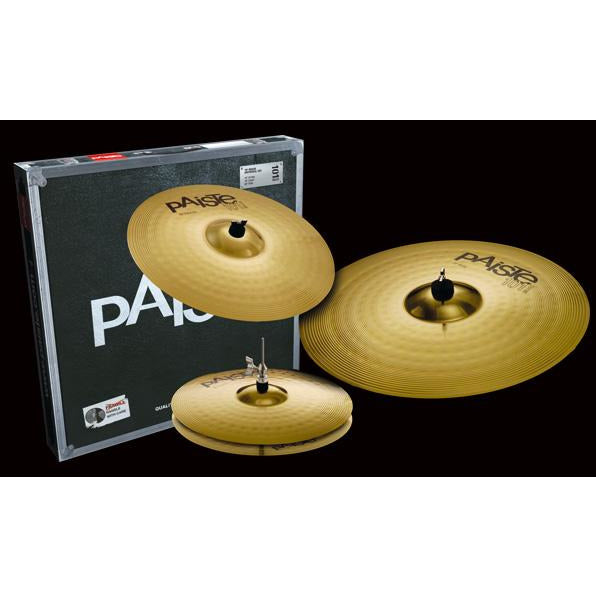 PAISTE 101 BRASS UNV SET