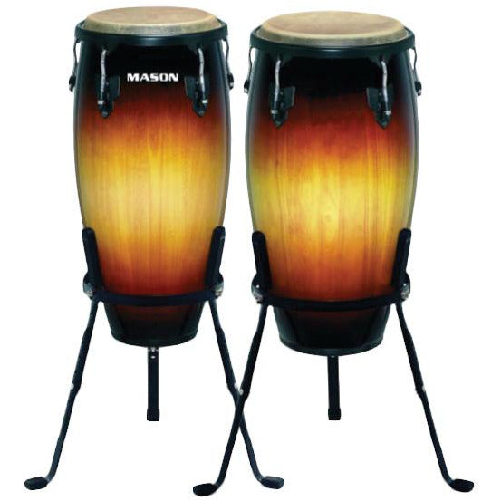 "Mason Conga set 10"" and 11 Sunburst"