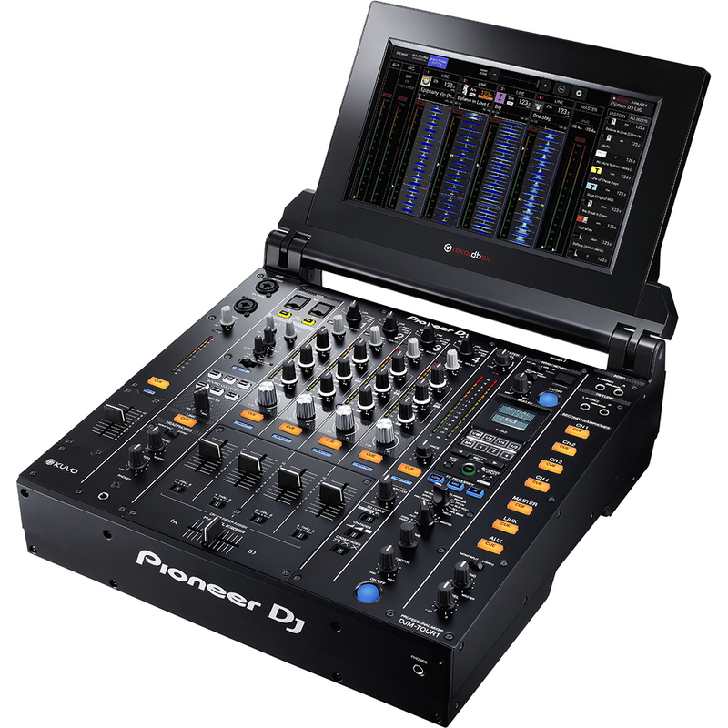 Pioneer DJ CDJ-TOUR1  Pro DJ Multimedia Player (4525877035075)