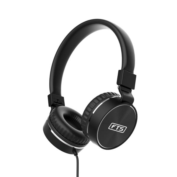 FTS OE.776BK Over Ear Headphone Black (4295062716483)