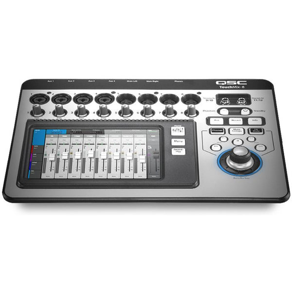 QSC TouchMix-8 8Channel Mixer with bag (4173638205507)