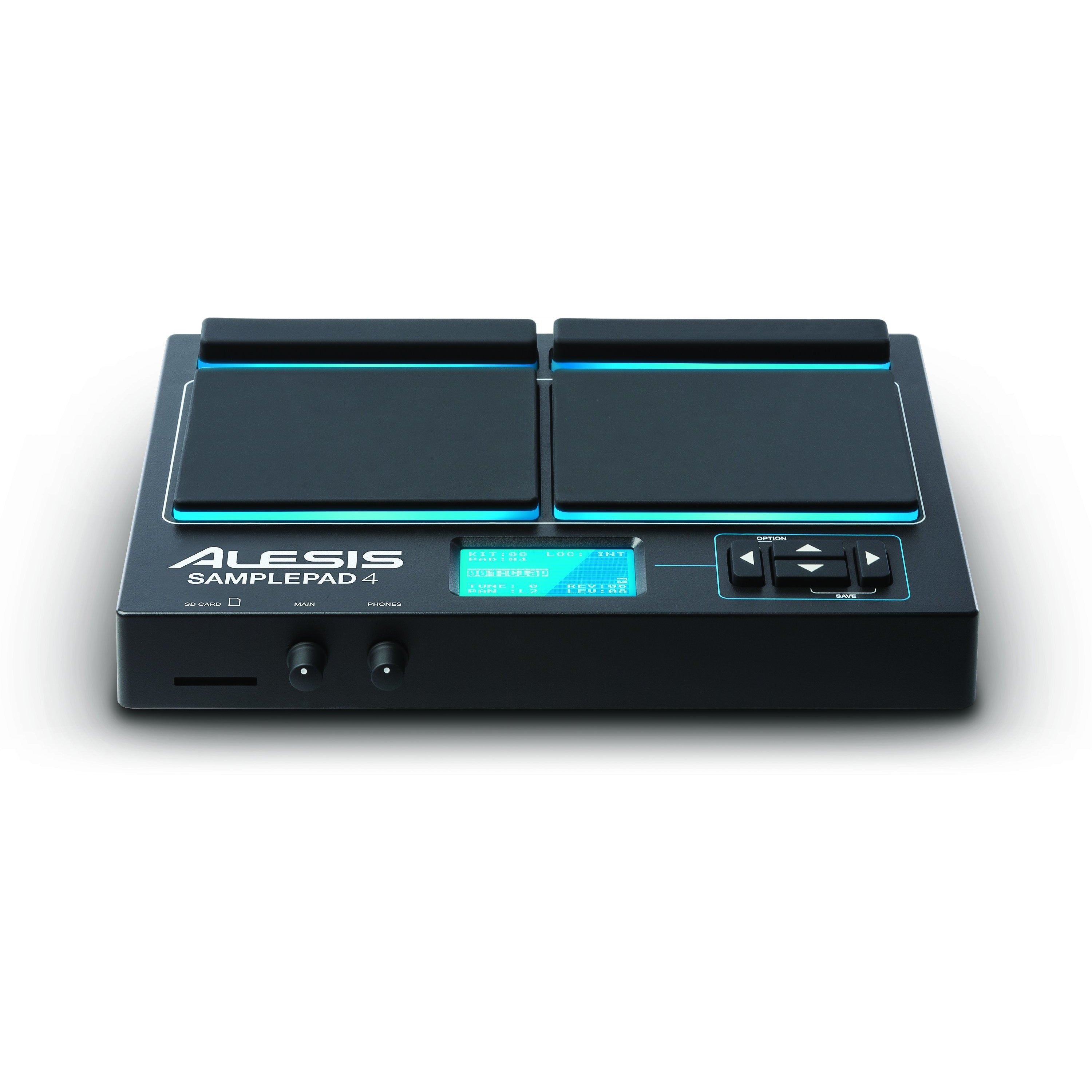 Alesis SAMPLE PAD 4 4-Pad Percussion, amp, Sample-triggering