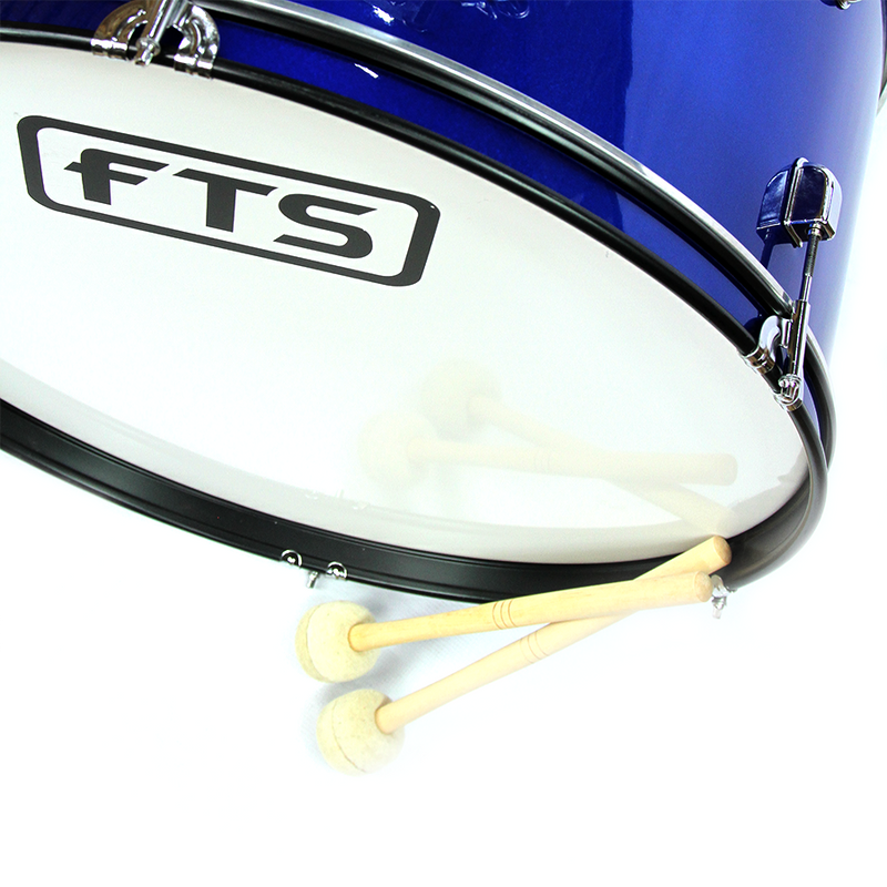 FTS Marching Drum Blue JWB-01 BL 26