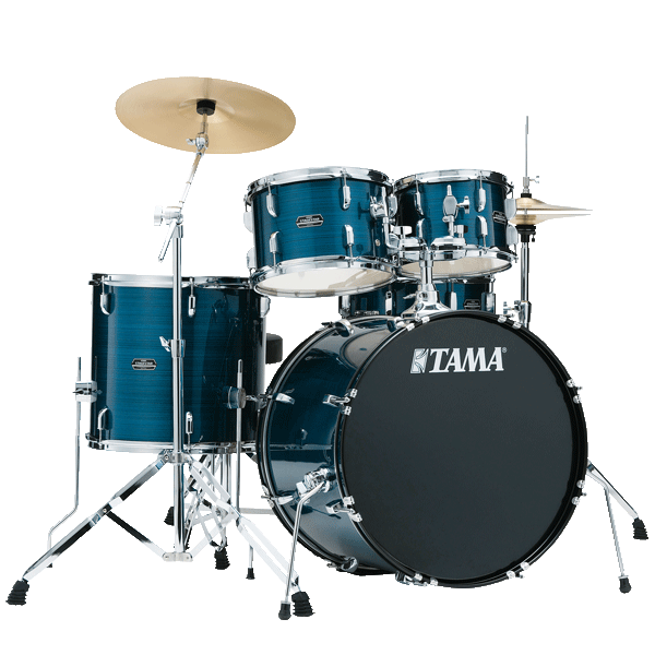 Tama Rhythm Mate Drum Kit Hairline Blue