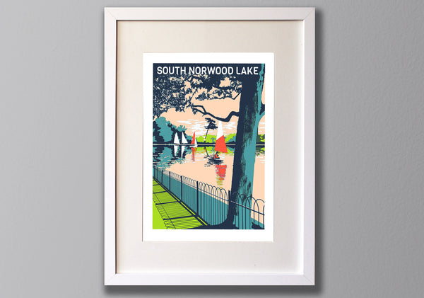 South Norwood Art Print