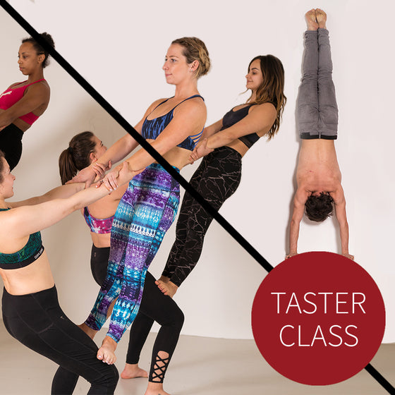 Adult Circus Taster: Acrobalance and Handstands