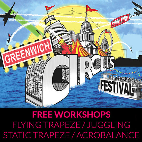 Greenwich Circus Festival – Free Workshops