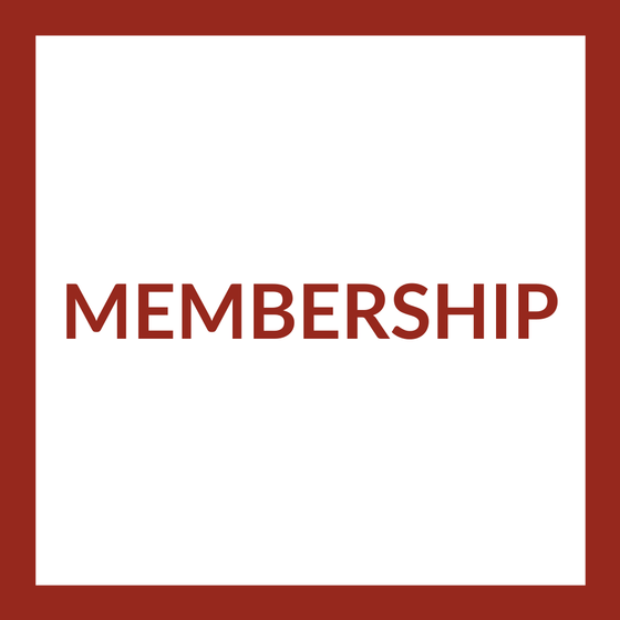 Membership in red text, surrounded by a red border