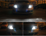 Customised LED Car Lights LED Bulbs RGB With Remote Control
