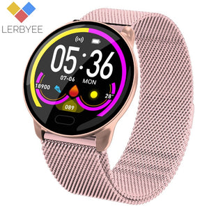 Lerbyee K9 Smart Bracelet Heart Rate Monitor Waterproof