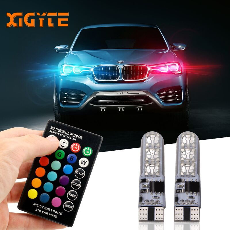 Customised LED Car Lights Bulbs With Remote Control