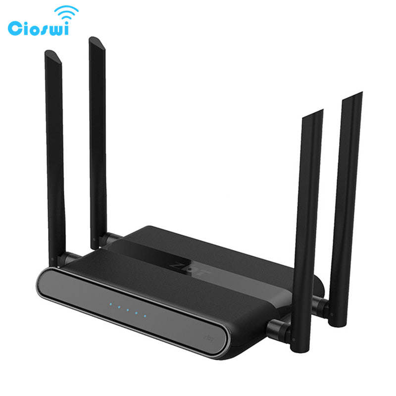 Cioswi 580Mhz MTK7628N Chip 1200Mbps Dual Band Wireless Wifi Router Stable & Strong Wifi Signal High Gain Antenna Access Point