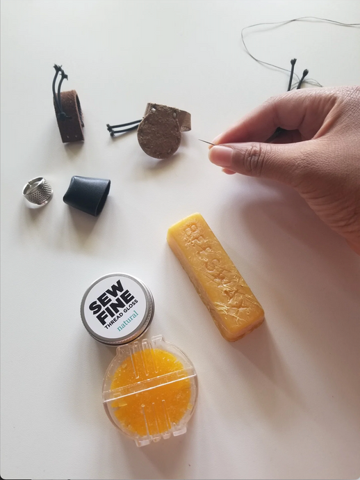 Handsewing 101: Thimbles & Beeswax by Alexis Bailey (link)