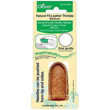 Load image into Gallery viewer, Natural Fit Leather Thimble