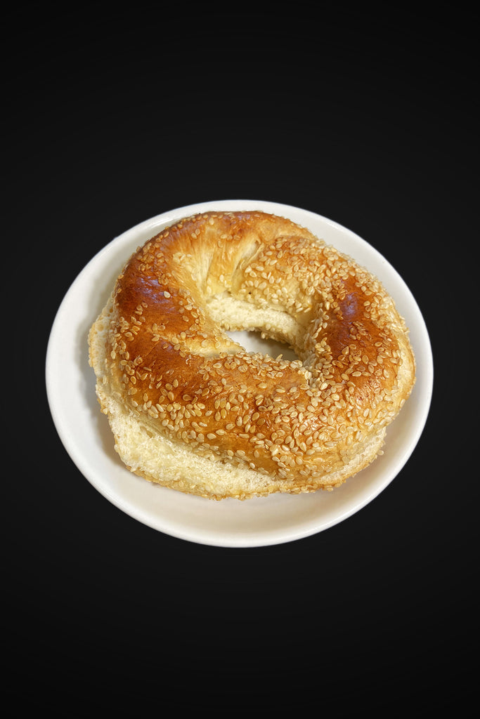 Six Fairmount's Fresh Sesame Bagel